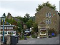 SK2176 : Well Dressing, Town Head, Eyam by Robin Drayton