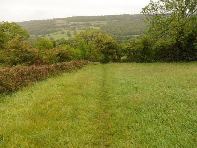 Field-Edge footpath near Castle Hill