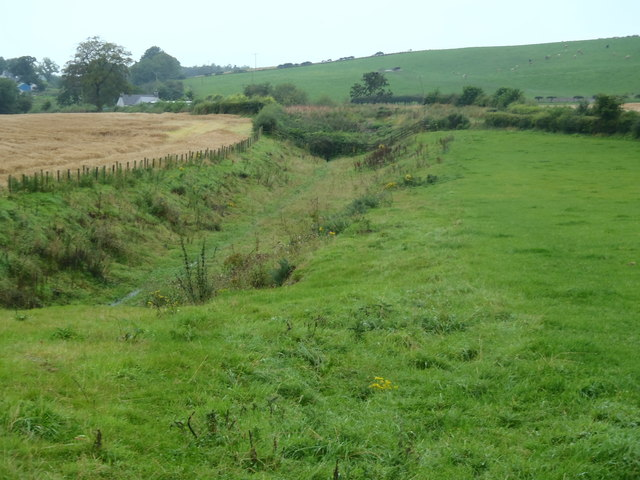 Course of old railway, Amisfield