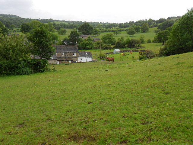 Fields near Lumb Lane