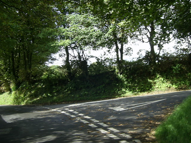 Road junction near Puncheston