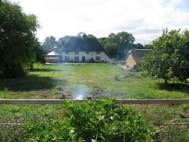 Venson Farm from bridleway