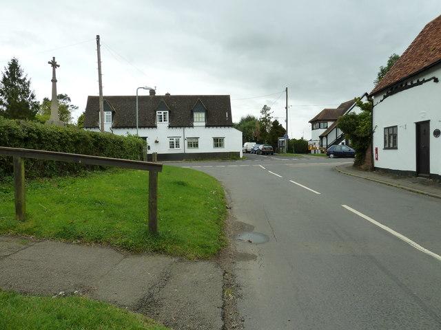 Granborough crossroads