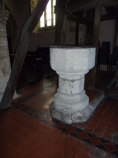 Holy Cross Hoggeston- font