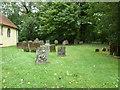 SP8224 : St Martin's Churchyard, Dunton by Basher Eyre