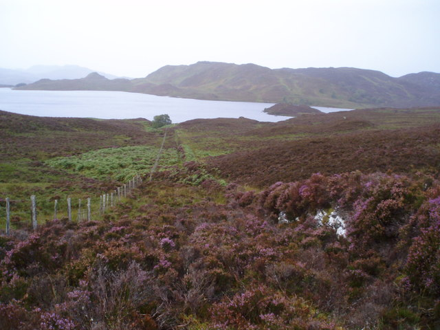 Loch Tarff - Knockie path going down to Loch Tarff