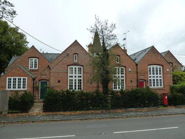 Former school opposite the parish churches