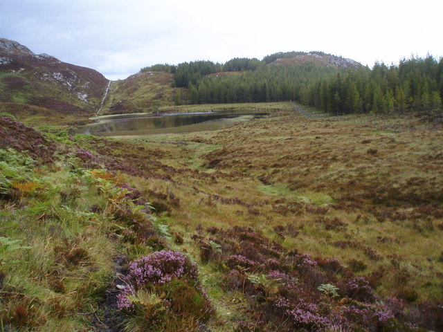 Loch Tarff - Knockie path from Loch Tarff side