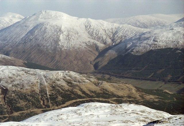 On the north ridge of Beinn Dubhchraig