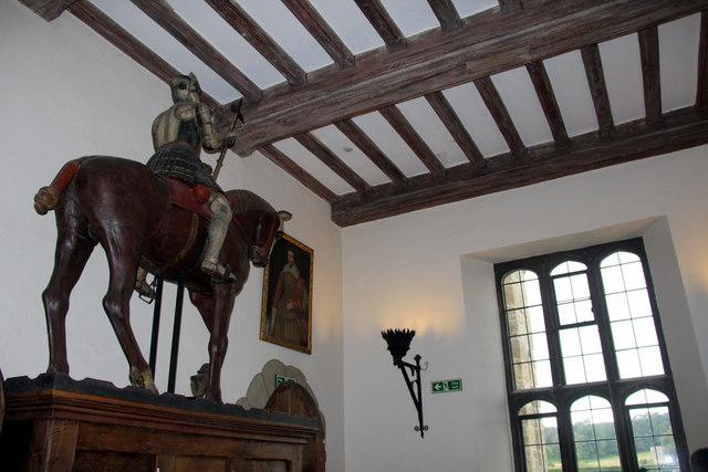 Horse Statue, Leeds Castle, Kent