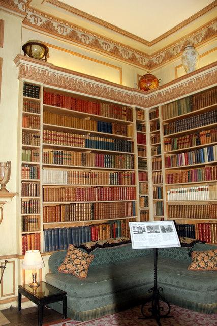 Library, Leeds Castle, Kent