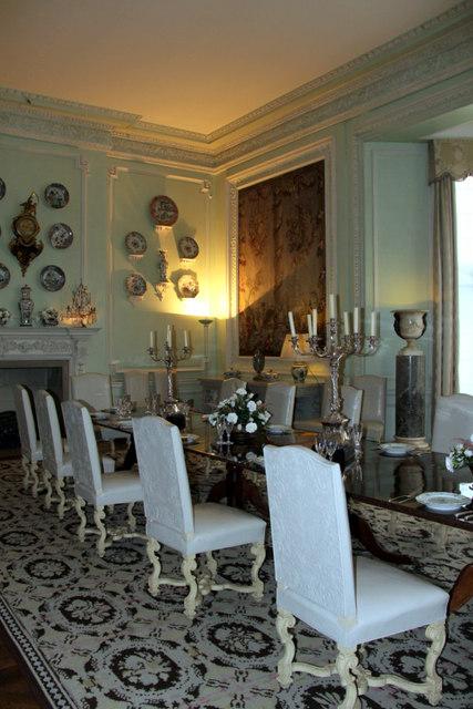 Dining Room, Leeds Castle, Kent
