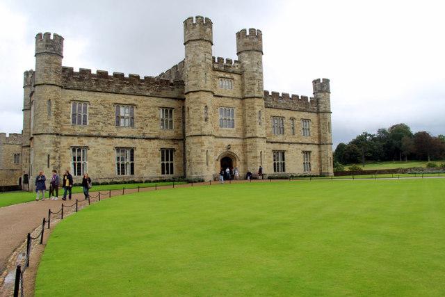 Entrance to Leeds Castle, Kent