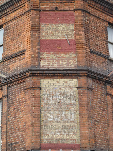 Ghost sign, High Road, NW2
