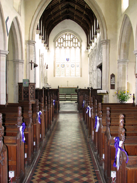 St Andrew's church in Wingfield