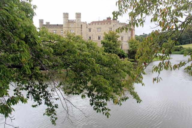 Leeds Castle and Moat, Kent