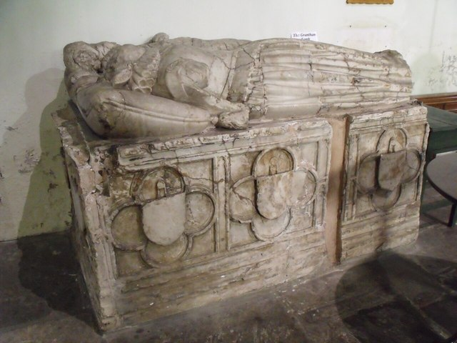 Grantham Tomb, St Mary le Wigford church, Lincoln