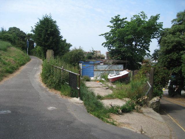 Footpath to Hastings Castle