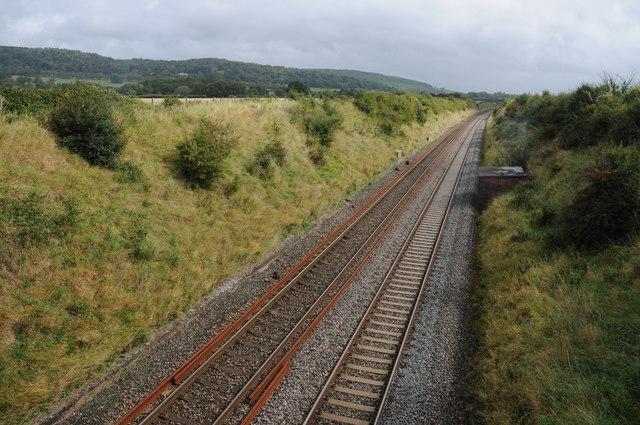 The Bristol to Exeter railway
