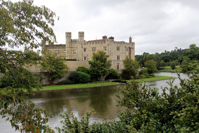 Leeds Castle with Moat, Kent