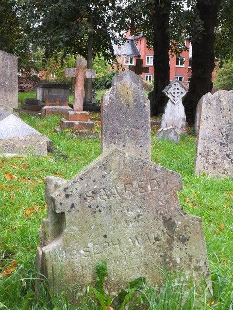 A misprint on a gravestone