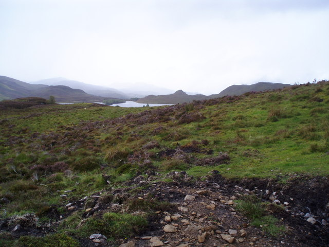 Moorland above Loch Tarff