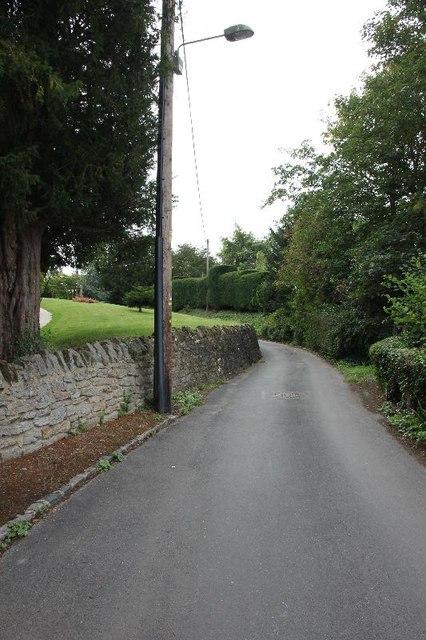 Church lane by the church