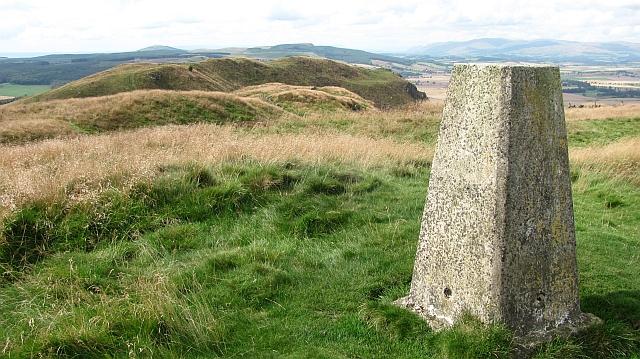 Triangulation pillar, Benarty Hill