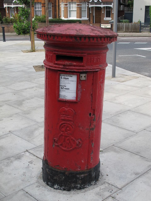 Edward VII postbox, Staverton Road / Brondesbury Park, NW2
