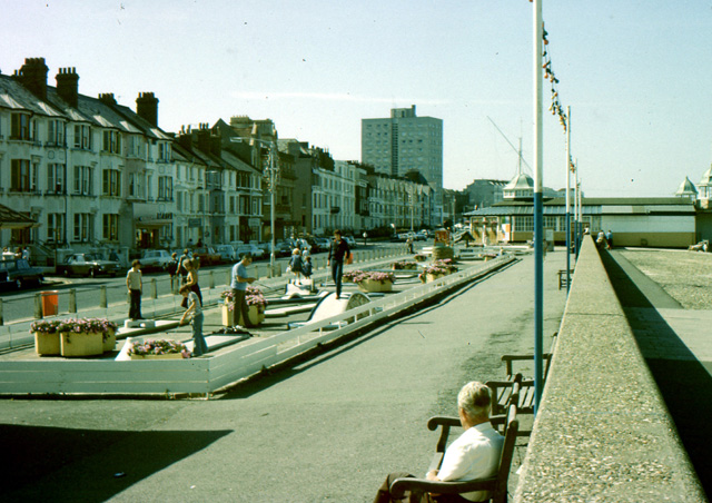 The promenade at Herne Bay circa 1979
