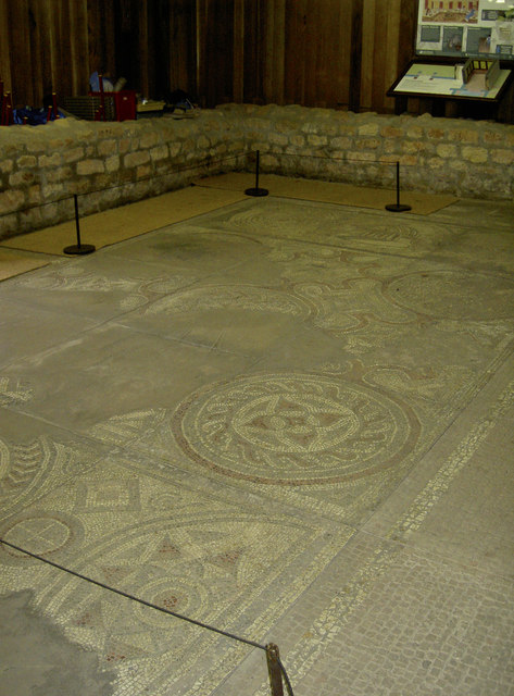 Mosaic, Kingsweston Roman Villa