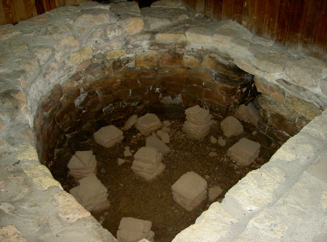 Hypocaust at Kingsweston Roman Villa
