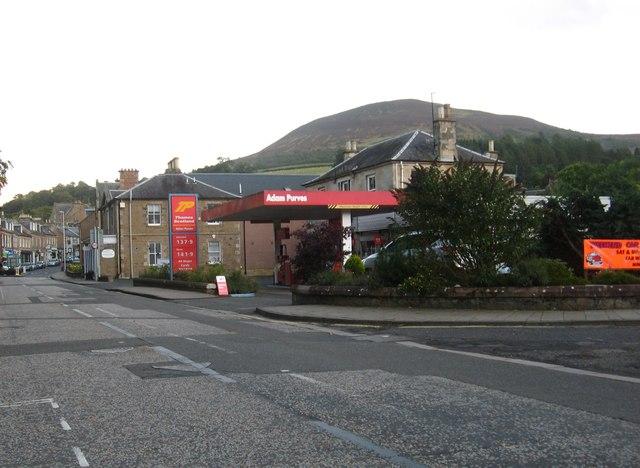 The Purves filling station