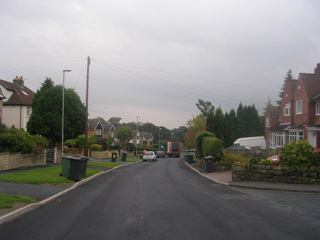West End Lane - viewed from The Avenue