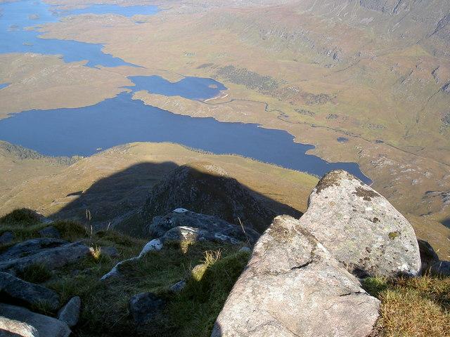 Cul Beag, North ridge