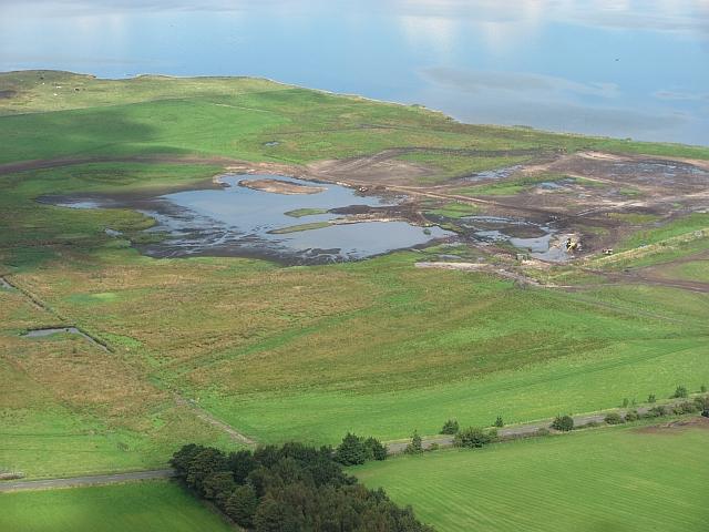 Wetland improvement, Vane Farm