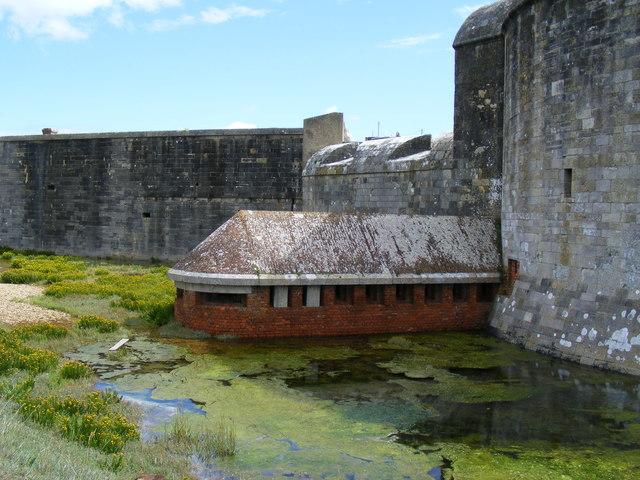 Gun emplacement Hurst Castle