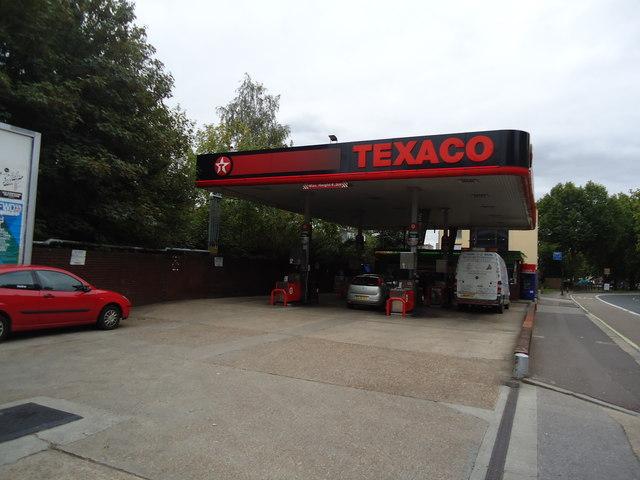 Petrol station, Scrubs Lane, London W10