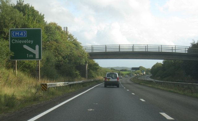 A34 near Down Farm