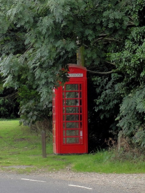 Coldred, Church Road, Telephone Box