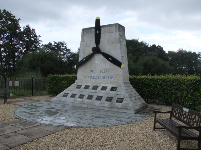 New Forest airfields monument