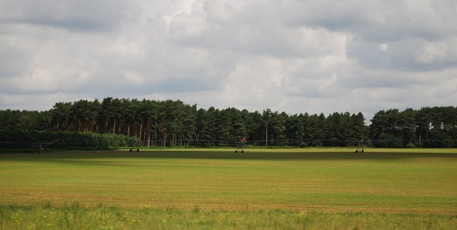 Large irrigation boom
