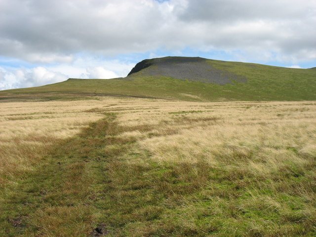 The lower slopes of Atkinson Pike