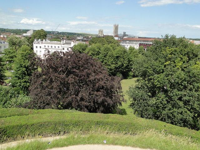 Panorama from Dane Tower