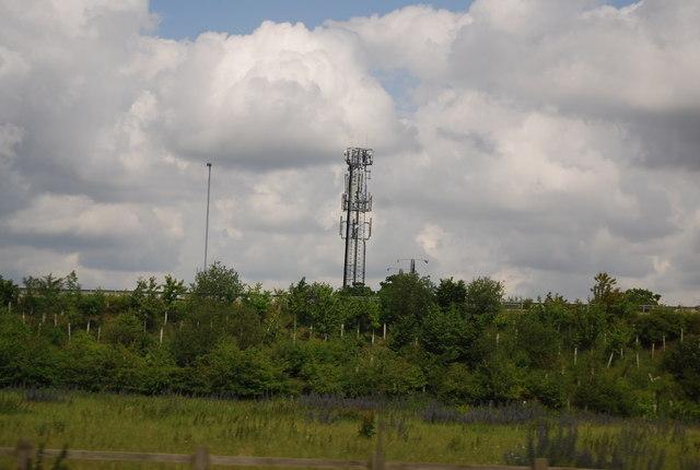 Telecommunication mast, Snetterton
