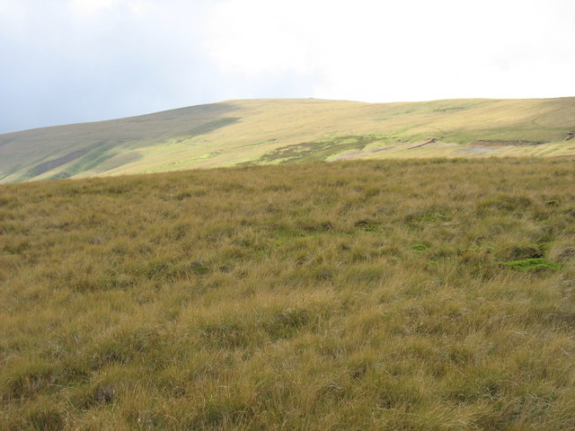 The north-eastern slopes of High Pike