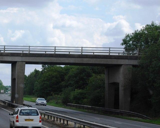 Norwich Rd Bridge (B1077), A11