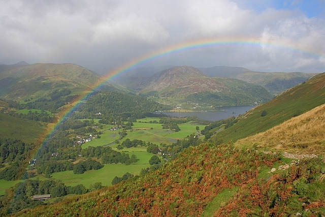 Patterdale from Boredale Hause