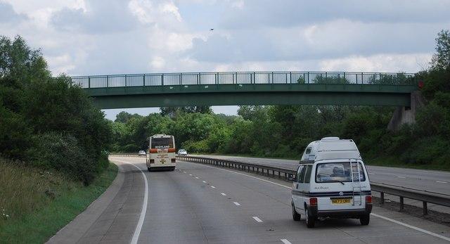 Footbridge, A11