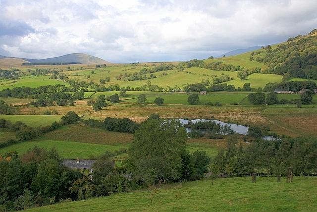 Tarn Below Foxhill Farm